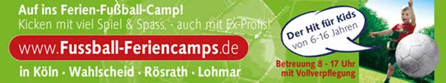 Fussball – Feriencamps in NRW